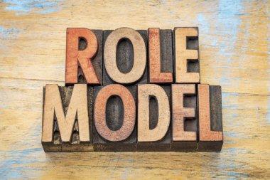 role model in wood type
