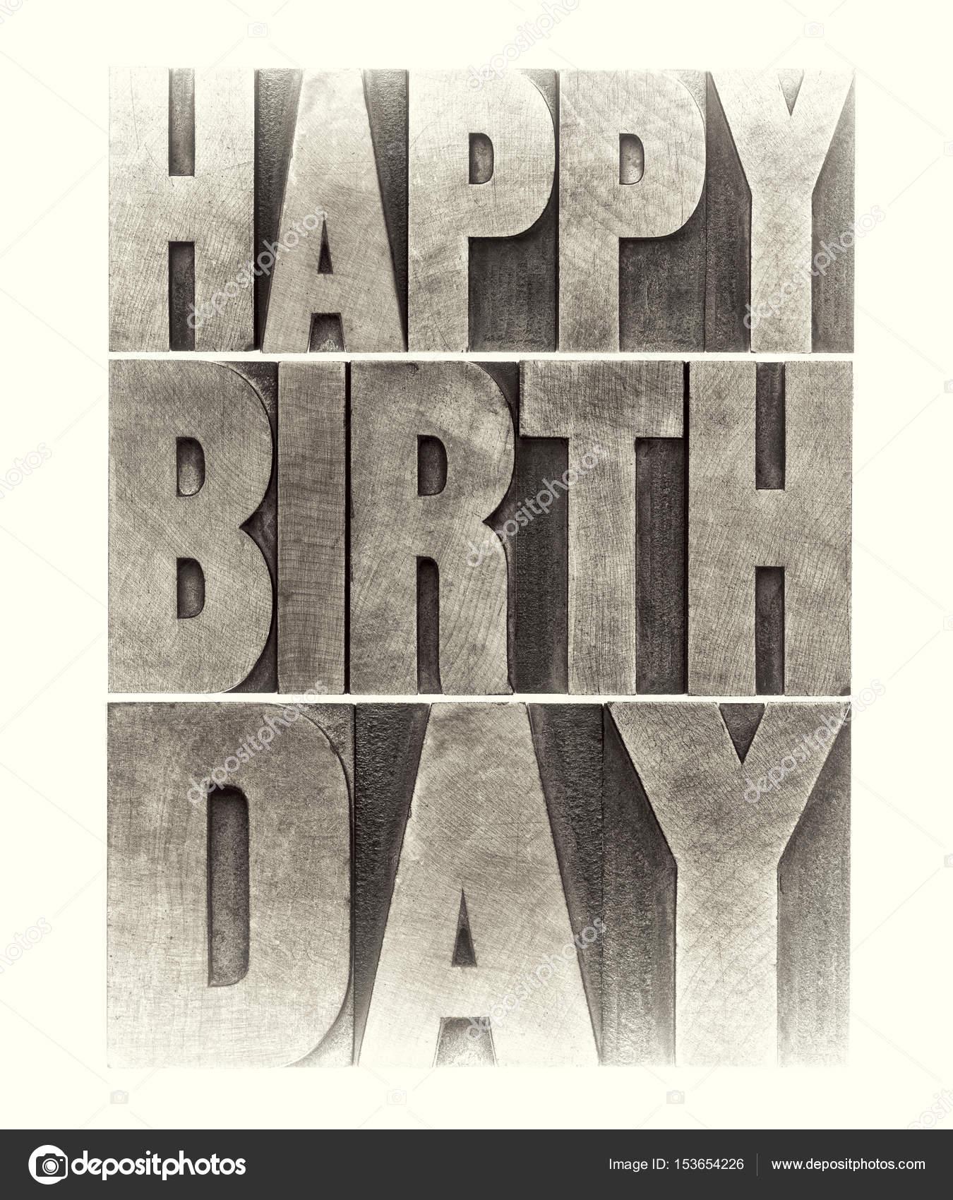 Happy Birthday Greeting Card Stock Photo Pixelsaway 153654226