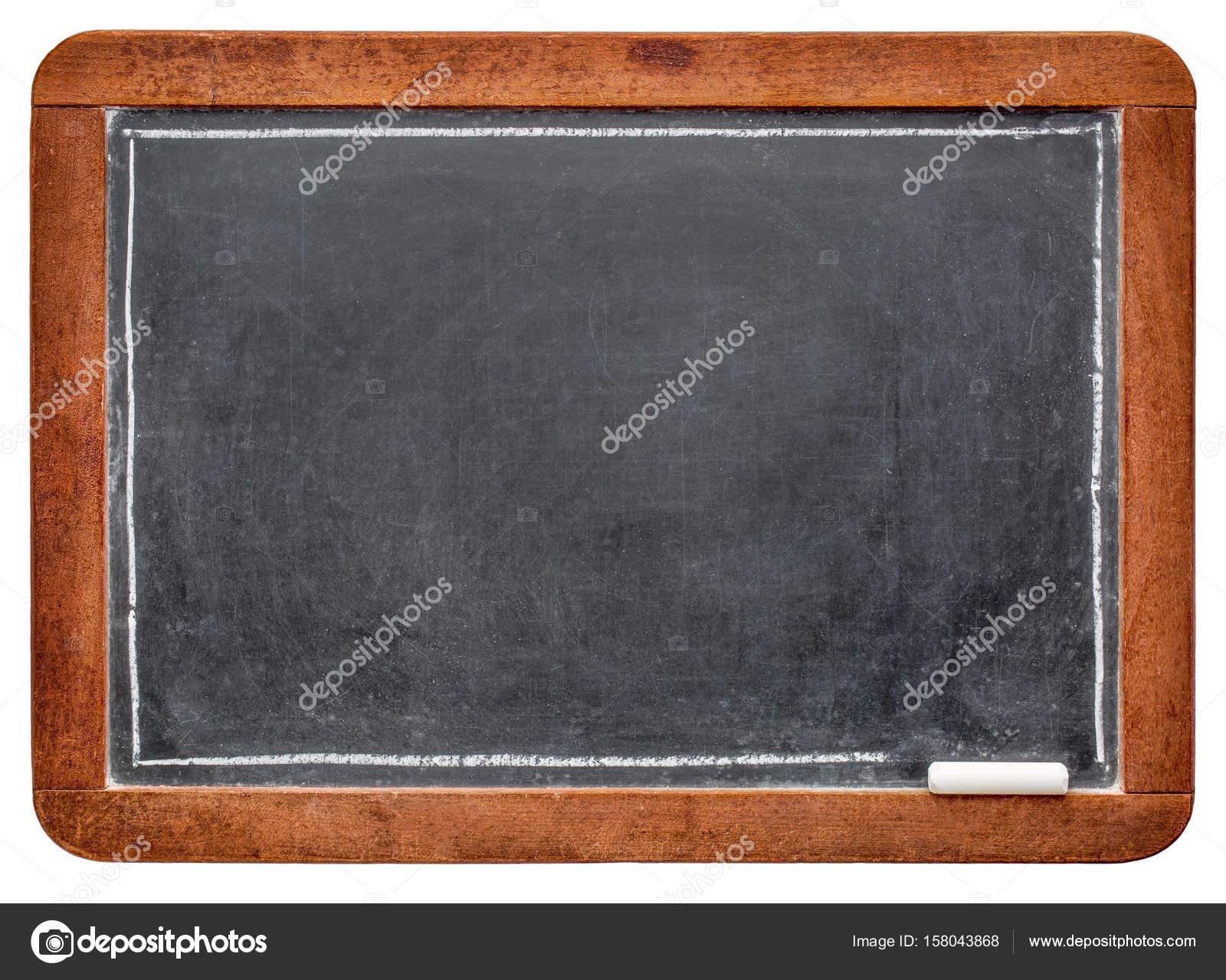leere Schiefertafel Tafel mit Kreide — Stockfoto © PixelsAway #158043868