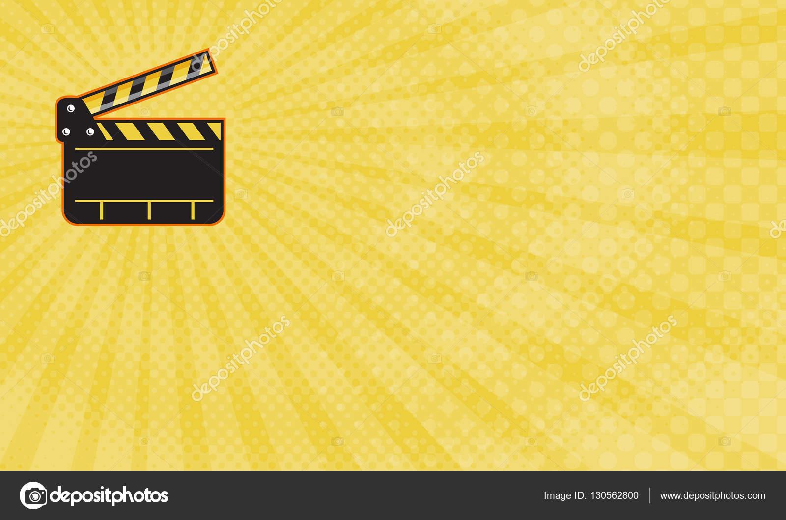 Movie Editor Business Card — Stock Photo © patrimonio #130562800