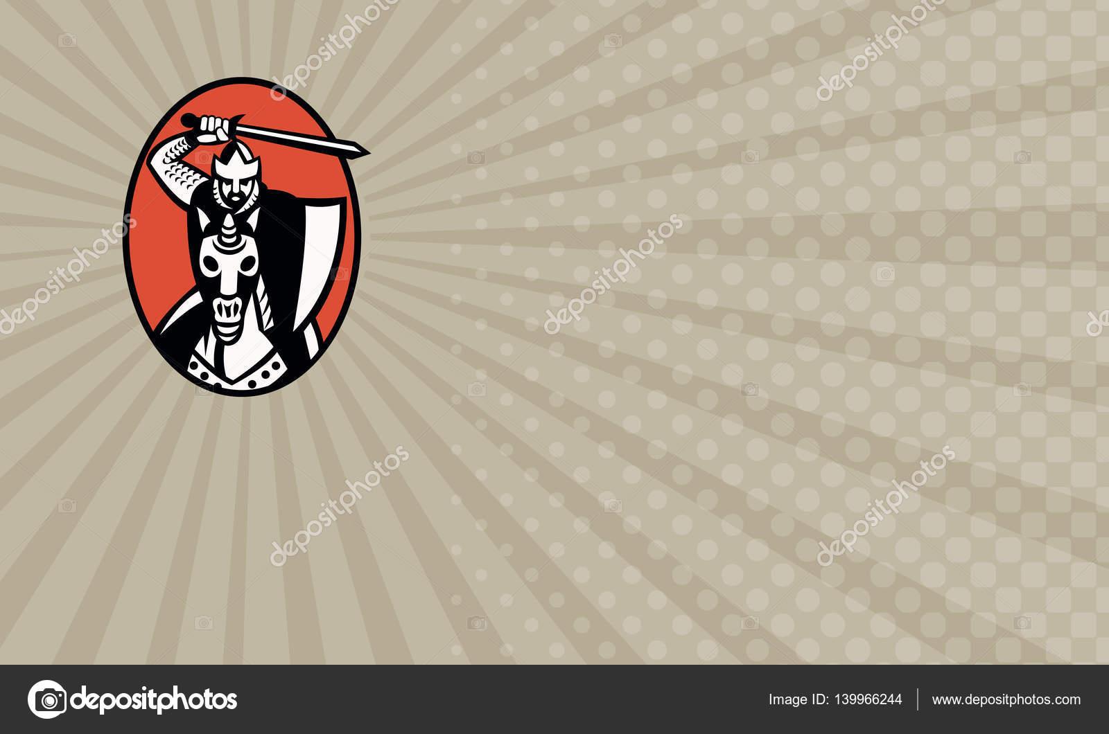 Crusaders Security Business card — Stock Photo © patrimonio #139966244