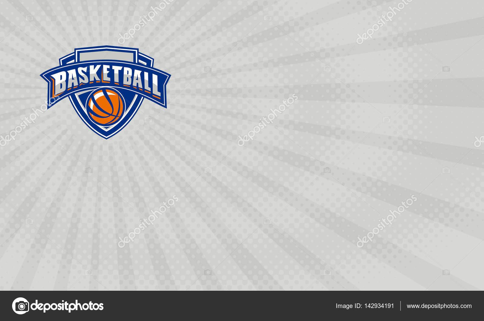 Carte De Basketball Formation Professionnelle Crest Images Stock Libres Droits