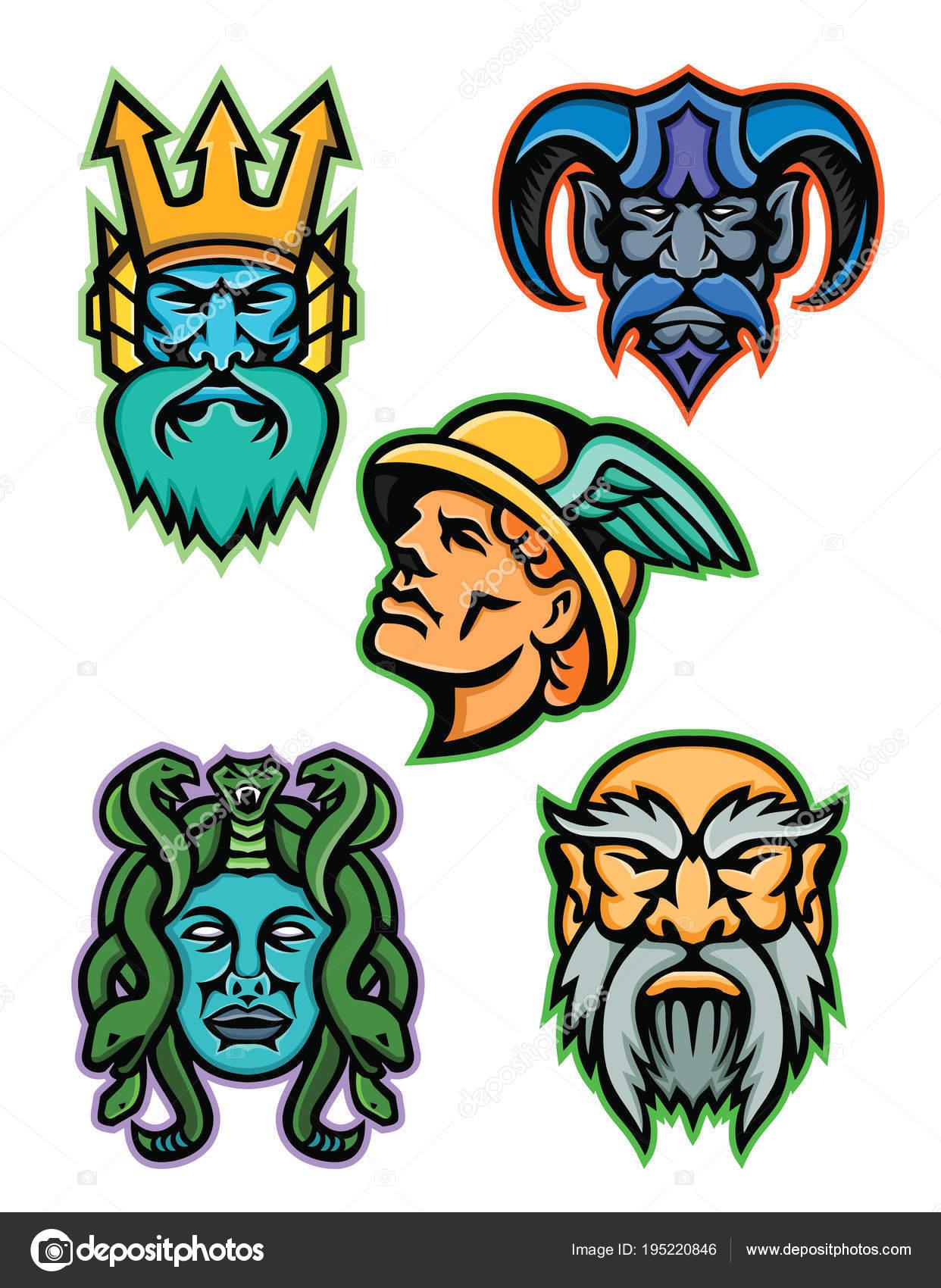 greek mythology characters