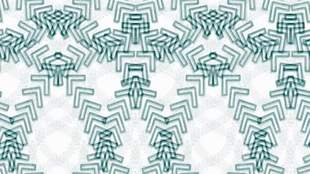 Seamless loop abstract animation pattern