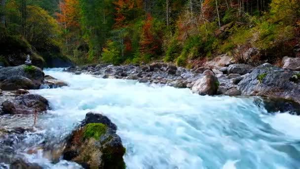 Wimbach river in Nationalpark Berechtesgaden, Bavaria, Germany