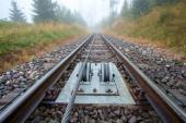 Photo Funicular railway at High Tatras mountains