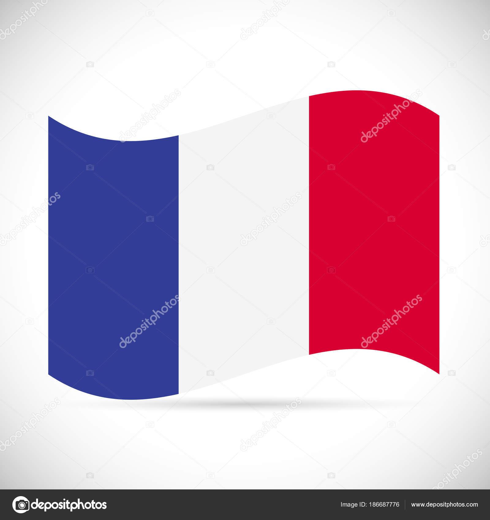 フランス国旗のイラスト ストックベクター Nmarques74 186687776