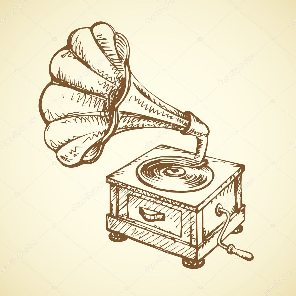 gramophone vector drawing stock vector c marinka 127251314 gramophone vector drawing stock vector c marinka 127251314