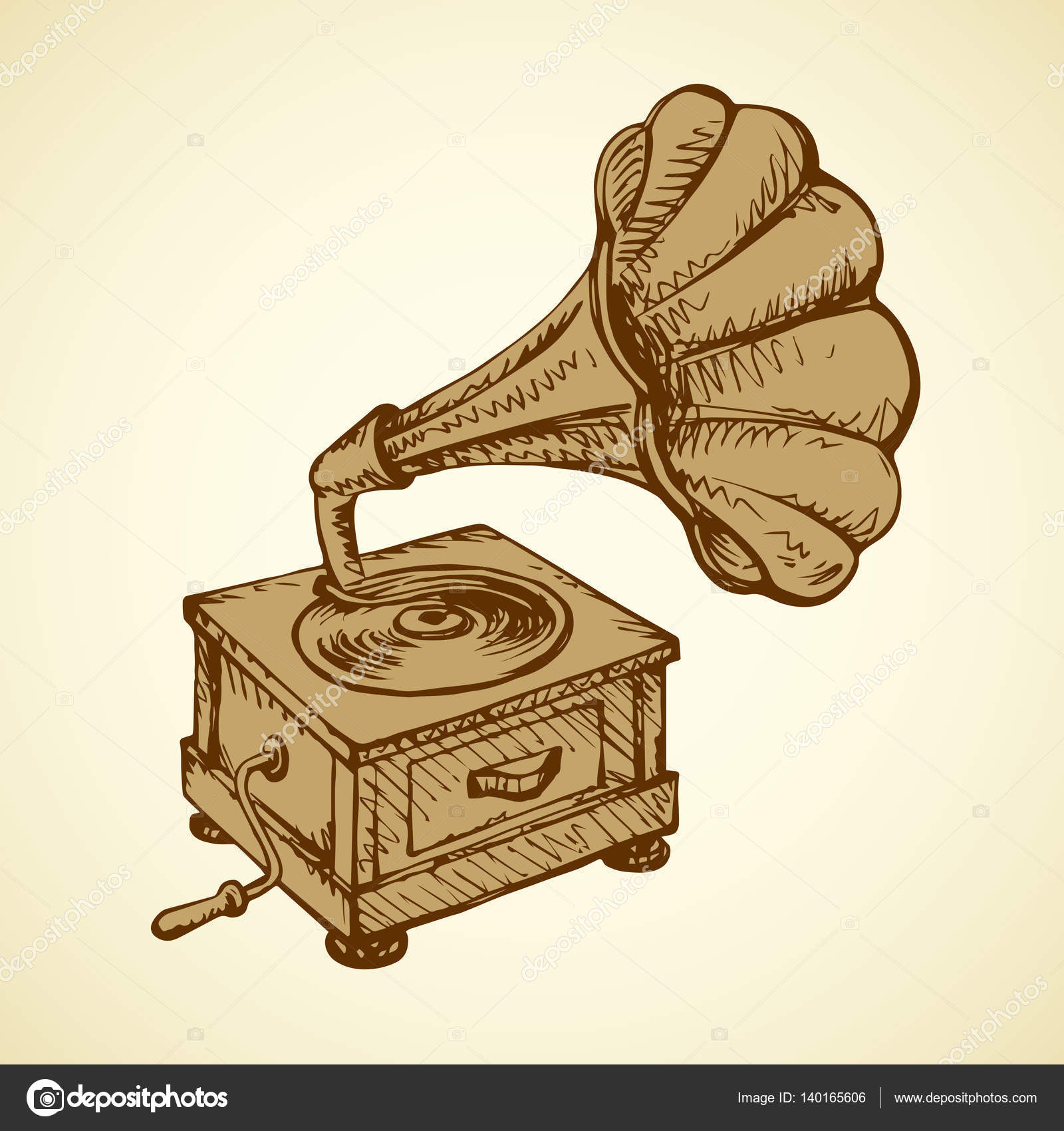 gramophone vector drawing stock vector c marinka 140165606 gramophone vector drawing stock vector c marinka 140165606
