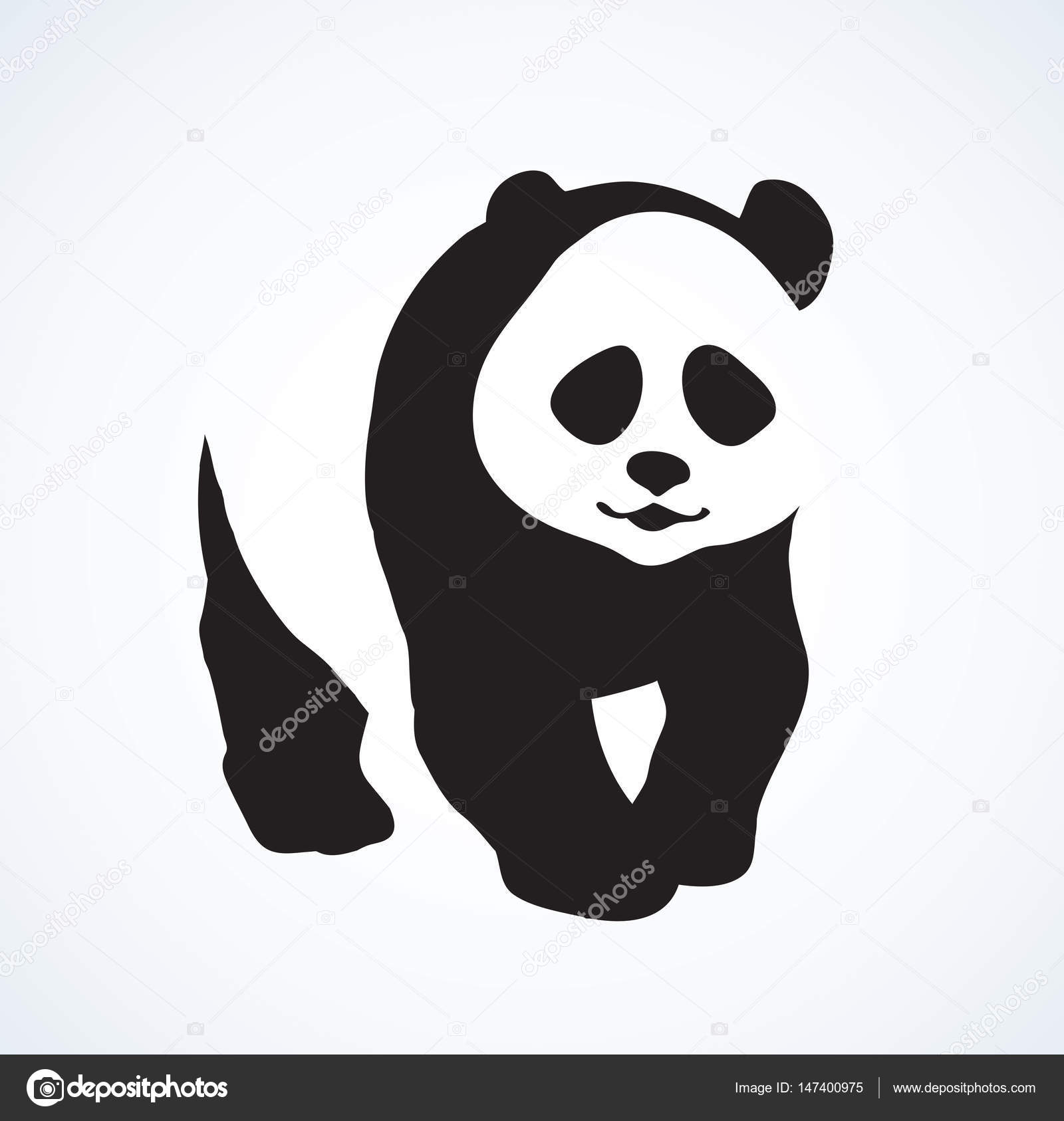 Panda Dessin Vectoriel Image Vectorielle Marinka 147400975