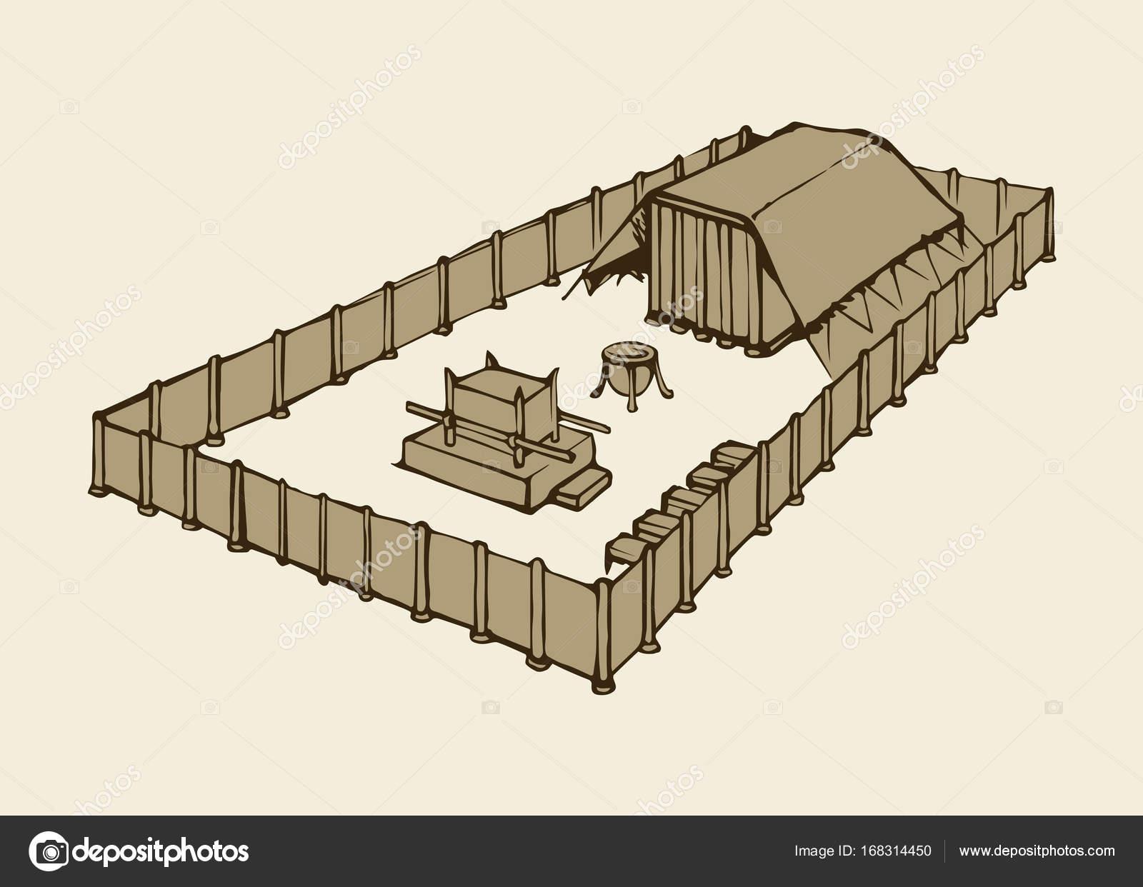 Imágenes Tabernaculo Moises Tabernáculo De Moisés Dibujo