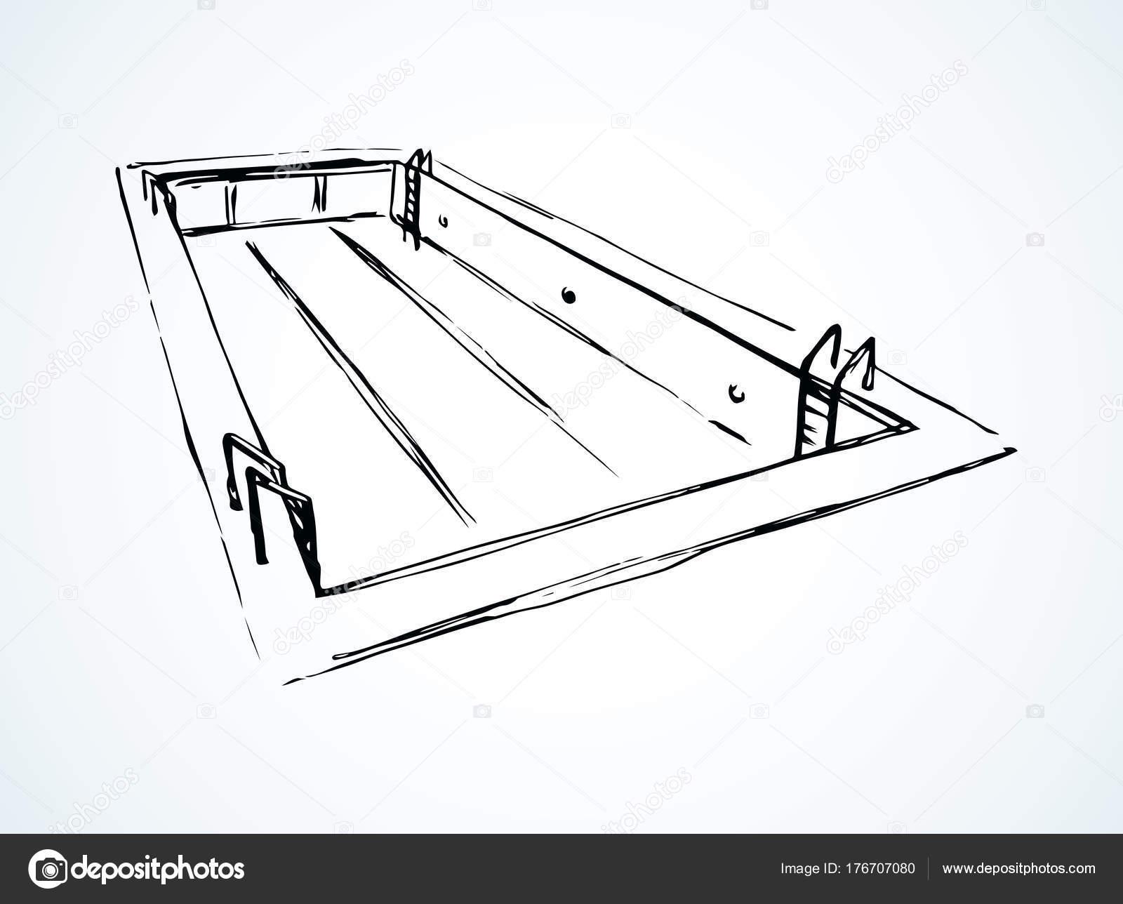 pool vector drawing stock vector marinka 176707080