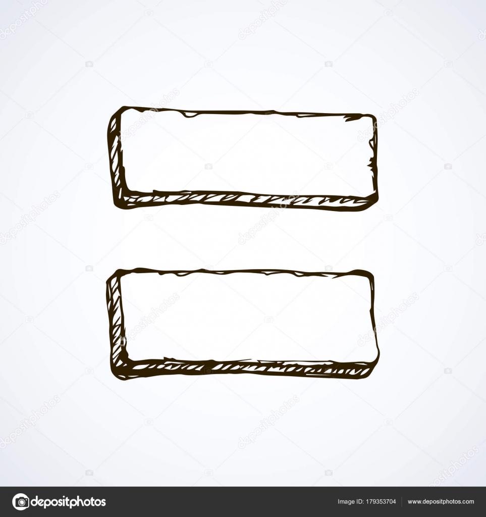 Frame pointer. Vector drawing — Stock Vector © Marinka #179353704