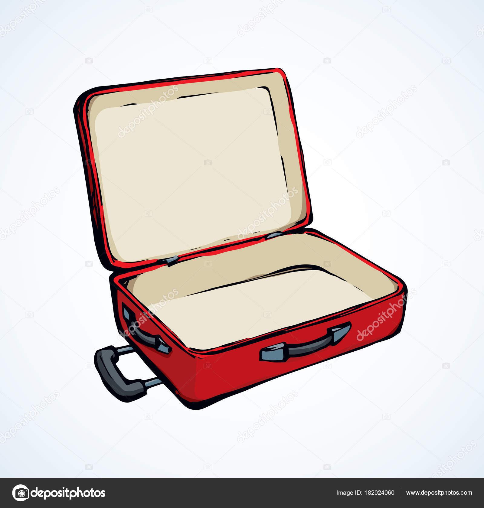 Valise dessin vectoriel image vectorielle marinka - Dessin de valise ...