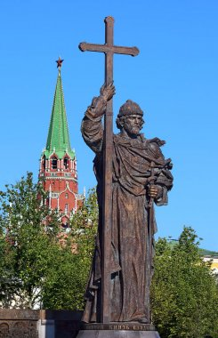 Monument to the Holy Equal-to-the-Apostles Prince Vladimir in Mo