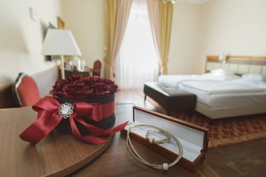 Hotel room with decoration