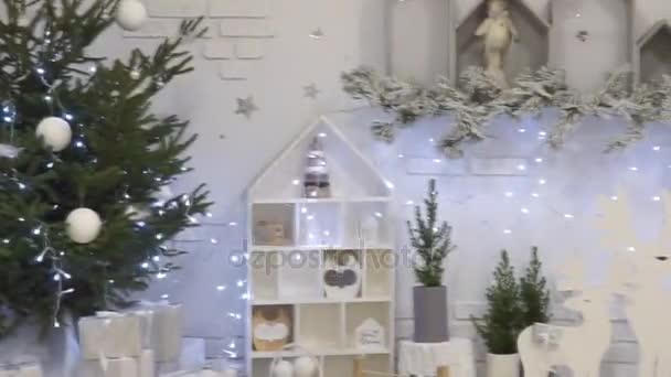 Bílé Vánoce a nový rok vnitřní pokoj classic