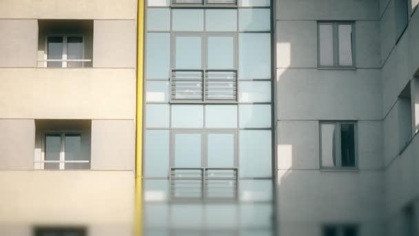 abstraktní bytový dům založení shot