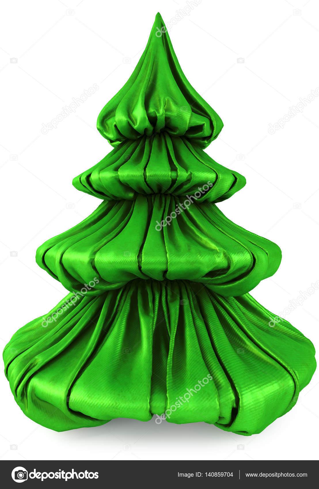 Green Fabric Christmas Tree Stock Photo C Dimdimich 140859704