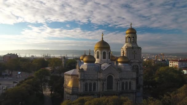 Varna Bulgaria, The Cathedral of the Assumption Aerial view