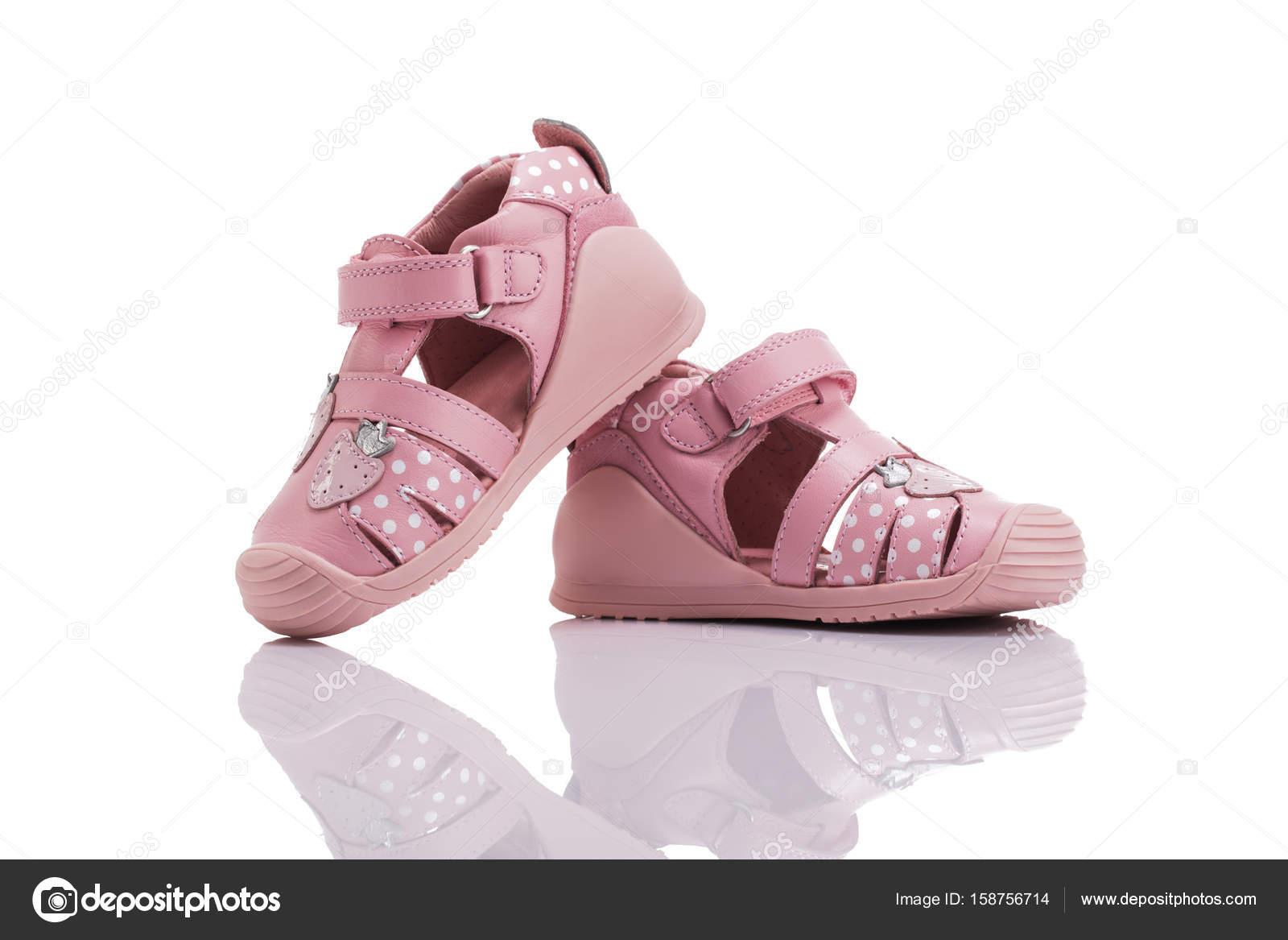 personalizzate vendite all'ingrosso più economico Sandali di cuoio ortopedico del bambino ragazza estate ...