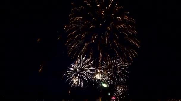 Feuerwerk am Nachthimmel, Festkonzert, Feiertage 2020