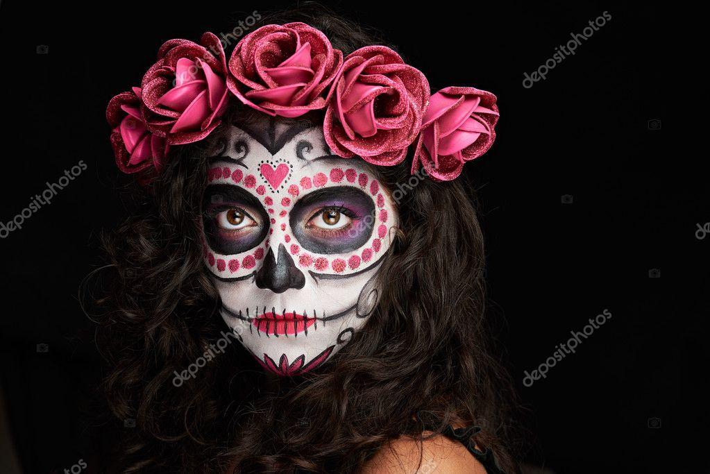 Fotos Cara Pintada Para Halloween Pintado Cara Para Halloween - Cara-pintada-para-halloween