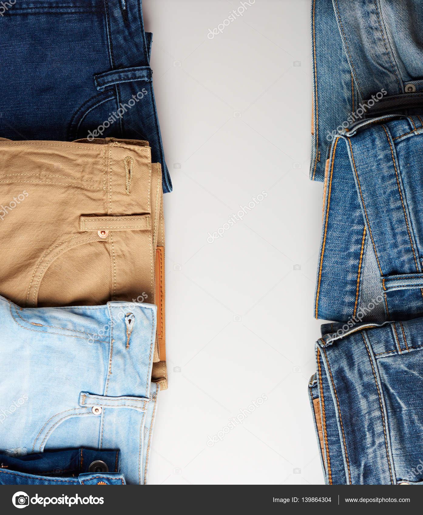 Vertikalen Rahmen des Jeans-boarder — Stockfoto © dimarik #139864304