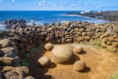Mágneses kövek, ahu Te Pito Kura, Húsvét-sziget