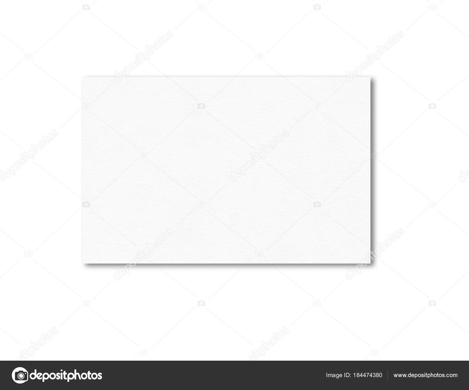 Blank business card mockup template — Stock Photo © daboost #184474380