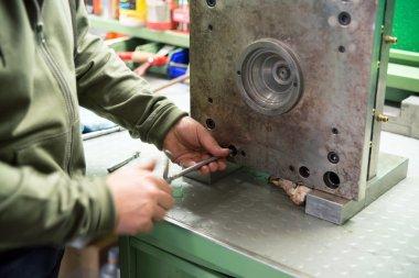 Workshop - manufacturing molds