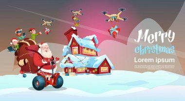 Santa Claus Ride Electric Segway Scooter