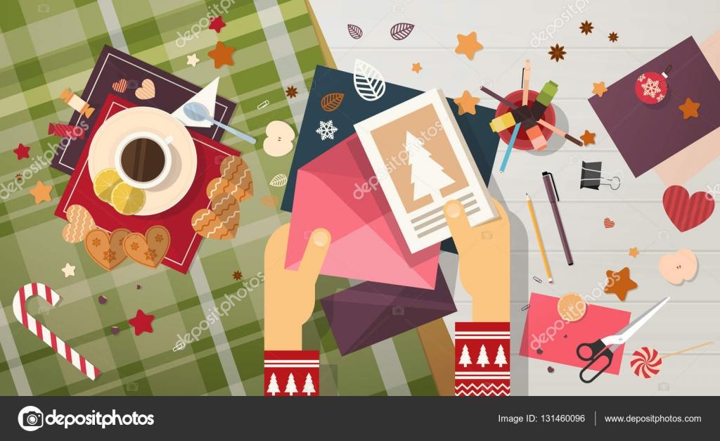 skicka gott nytt år kort God jul önskelista brev till Santa Clause gott nytt år hälsning  skicka gott nytt år kort