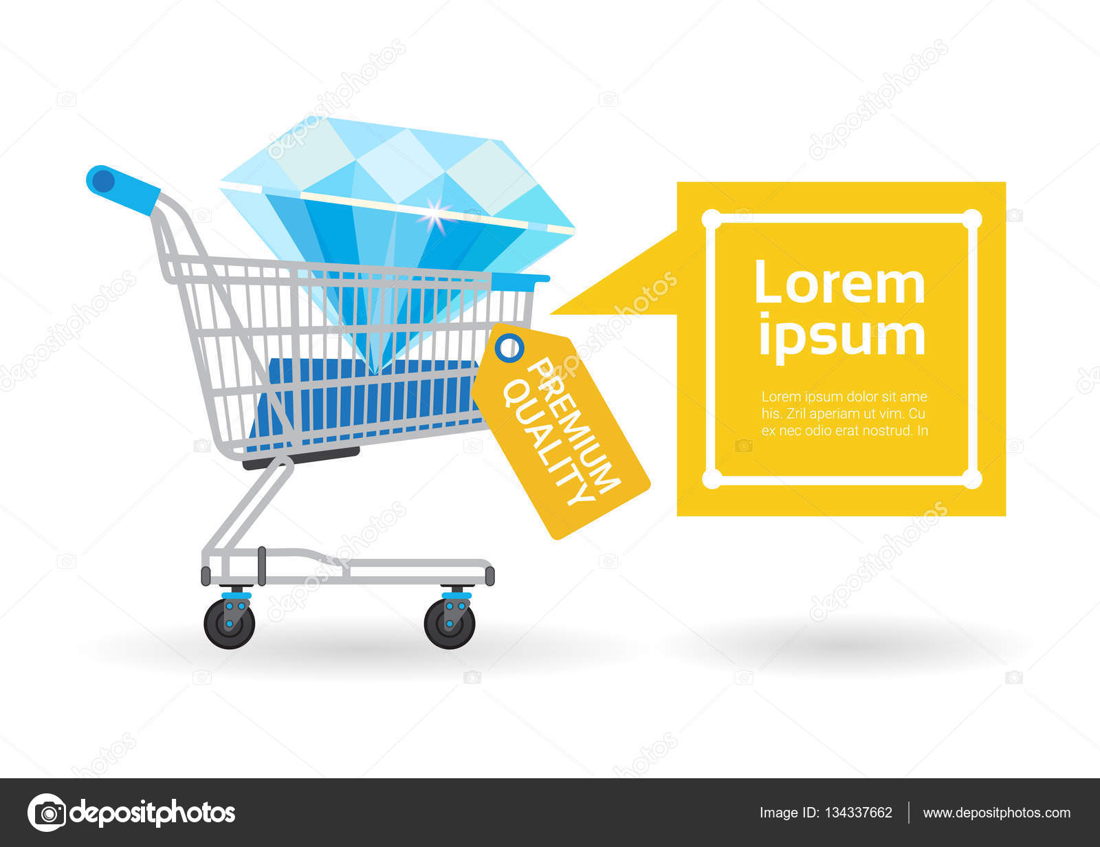 Shopping Cart Banners Life Size Banners