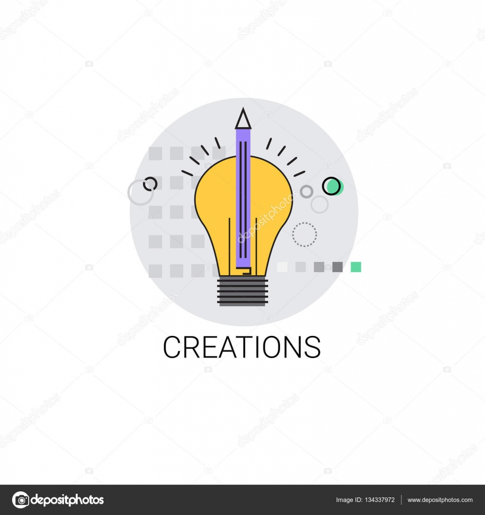 Glühbirne-Symbol neue Idee Erstellung Konzept — Stockvektor © mast3r ...