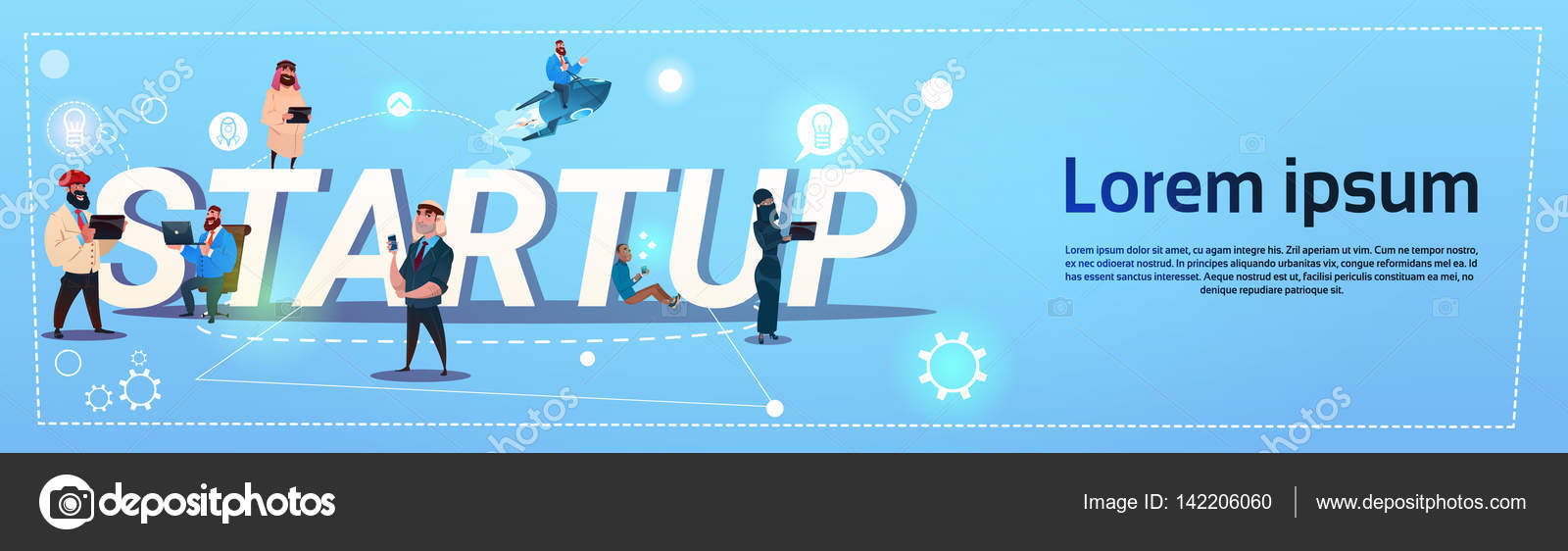 Geschäftsleute Gruppe neue Idee Konzept kreativen Brainstorming ...