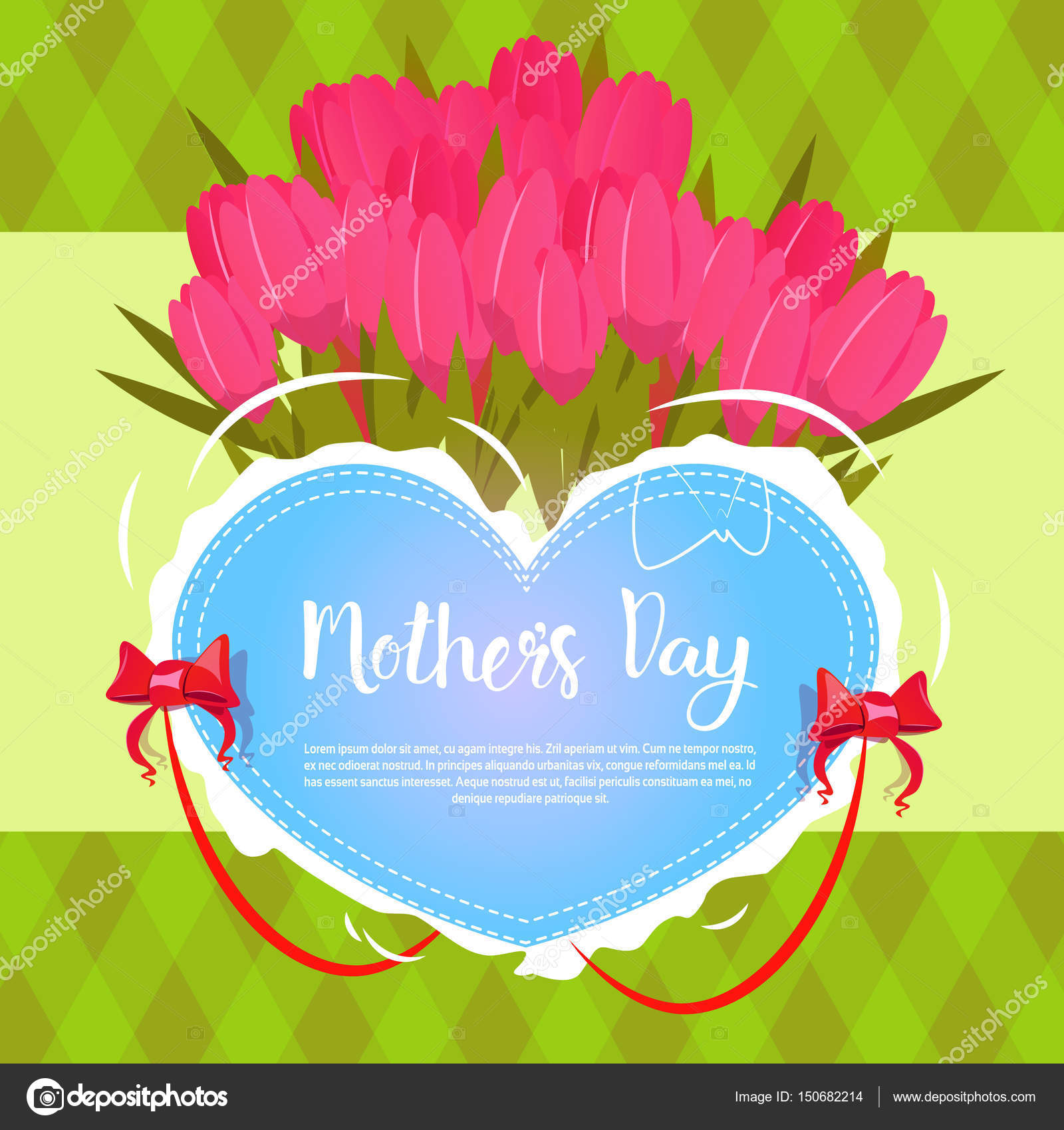 Happy mother day spring holiday greeting card banner stock vector happy mother day spring holiday greeting card banner stock vector m4hsunfo