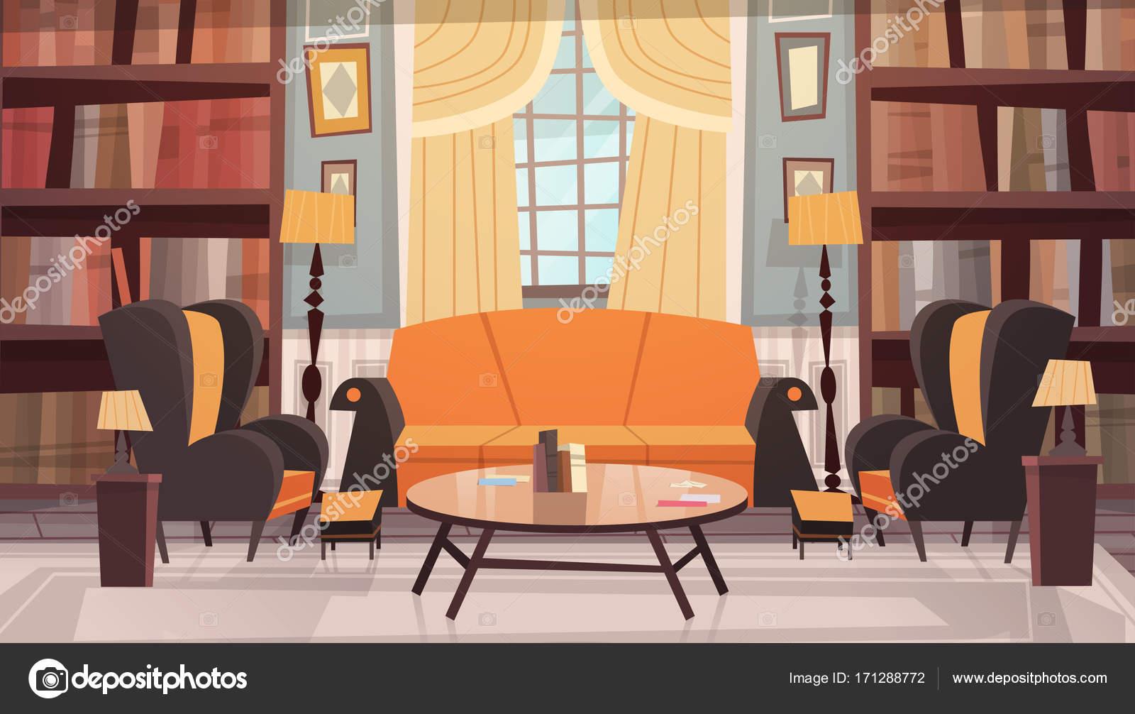 Gemütliche sessel design  Gemütliches Wohnzimmer Interior Design mit Möbel, Sofa, Tisch ...