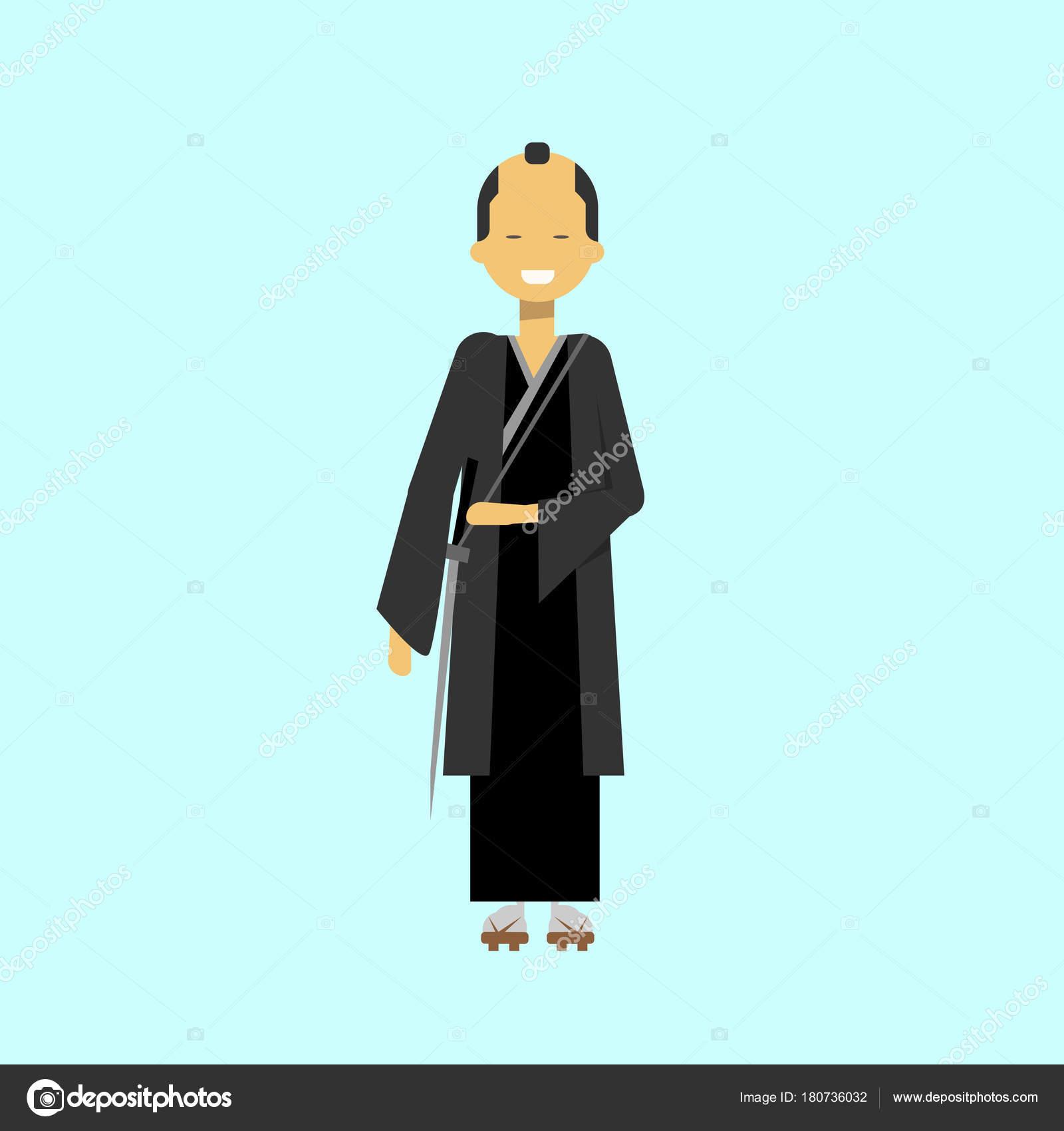 Vestido negro japones