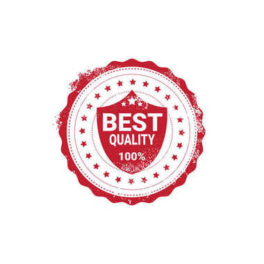 Best Quality Sticker Red Grunge Stamp Isolated Badge Icon