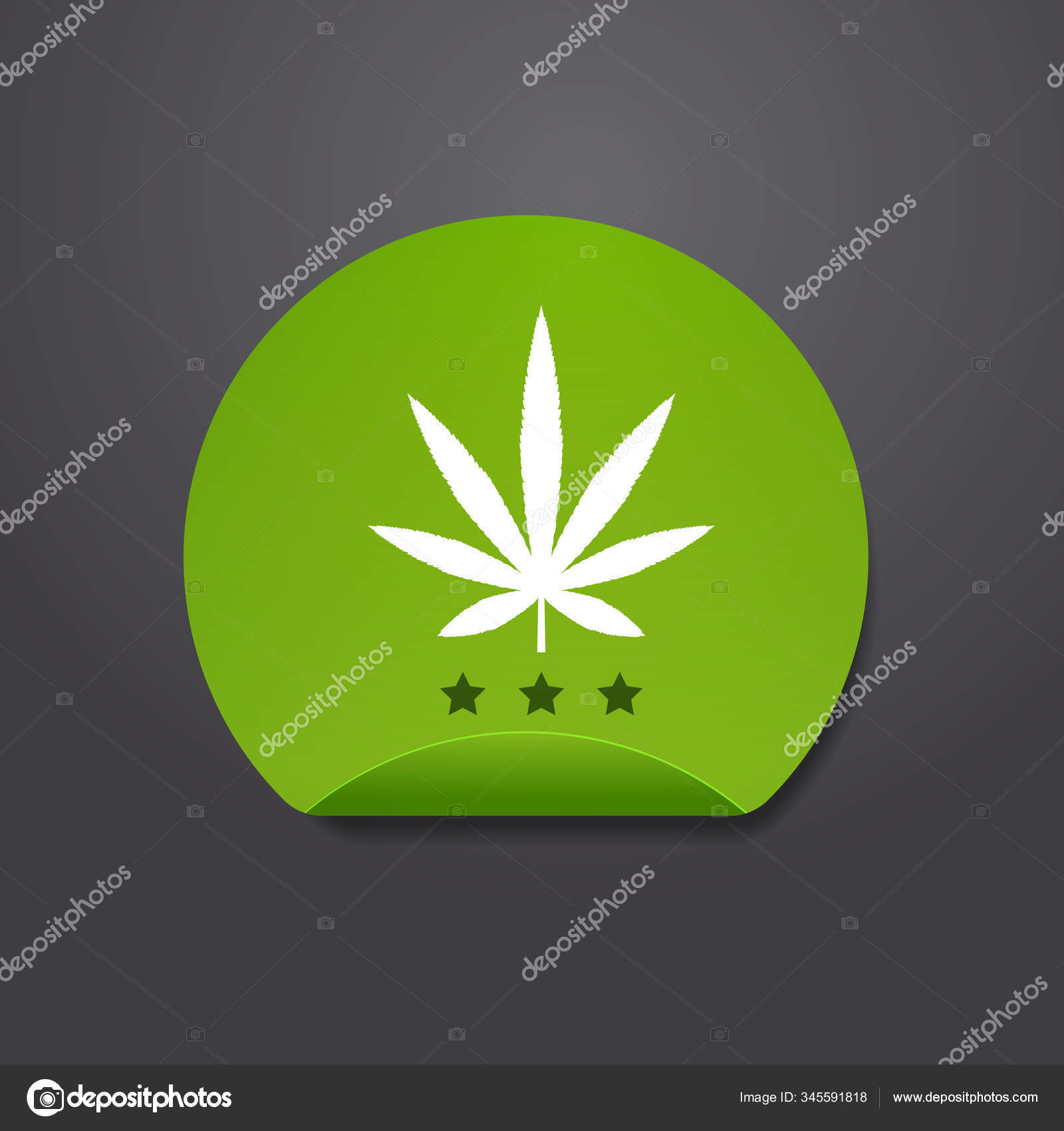 marijuana leaf sticker cbd oil label thc free icon hemp extract emblem ganja cannabis weed badge logo design flat stock vector c mast3r 345591818 https depositphotos com 345591818 stock illustration marijuana leaf sticker cbd oil html