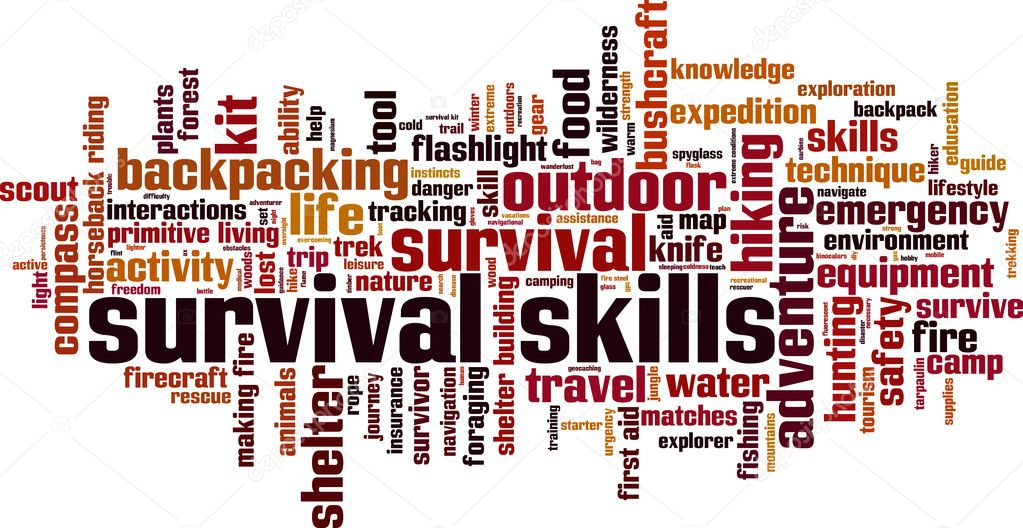 35 Survival skills Vector Images - Free & Royalty-free Survival skills  Vectors | Depositphotos®