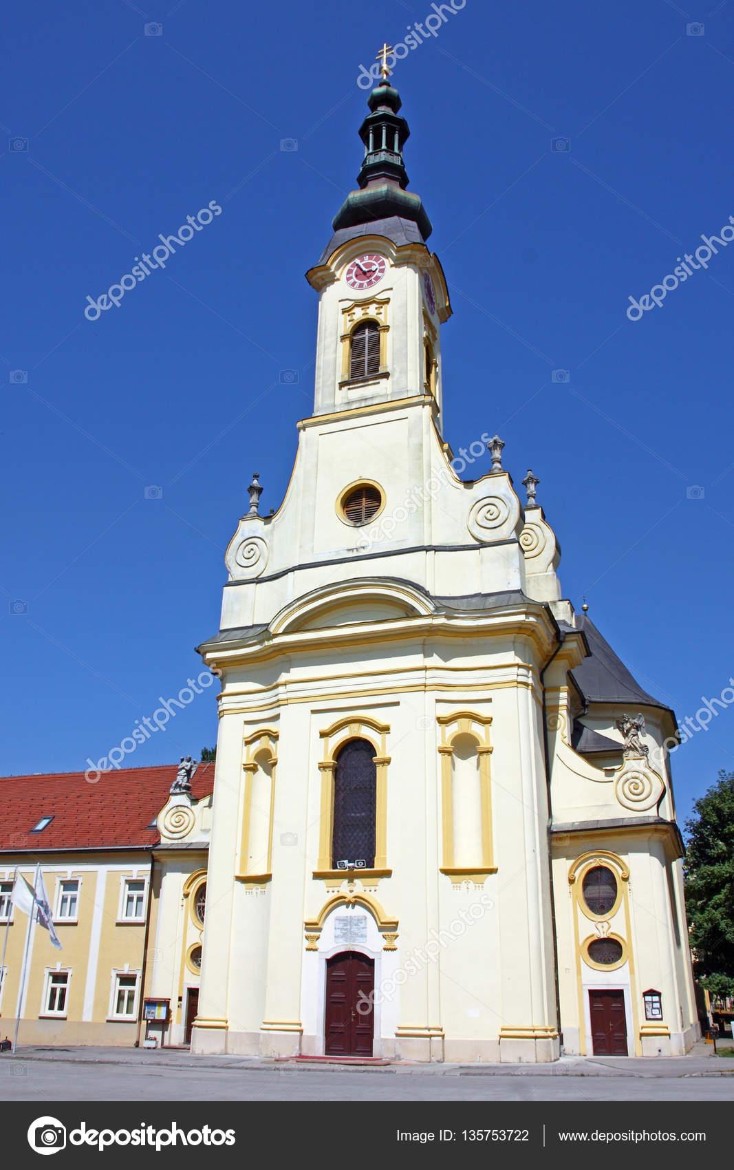 Theresia Van Avila Kathedraal Stockfoto Boris15 135753722