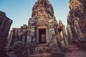 Photo  ancient Khmer culture temple