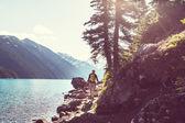 Fotografie Wandern-Mann in Kanada