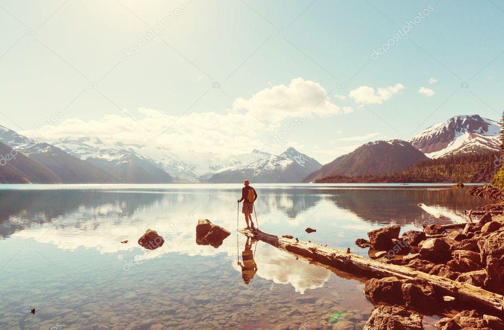Hike  on Garibaldi lake
