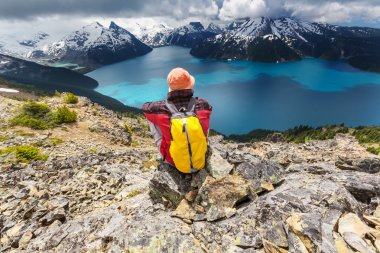 Hike  on Garibaldi lake