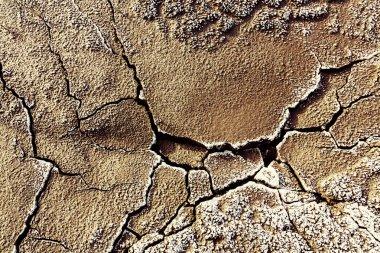Drought land texture