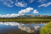 Serenity lake in Alaska