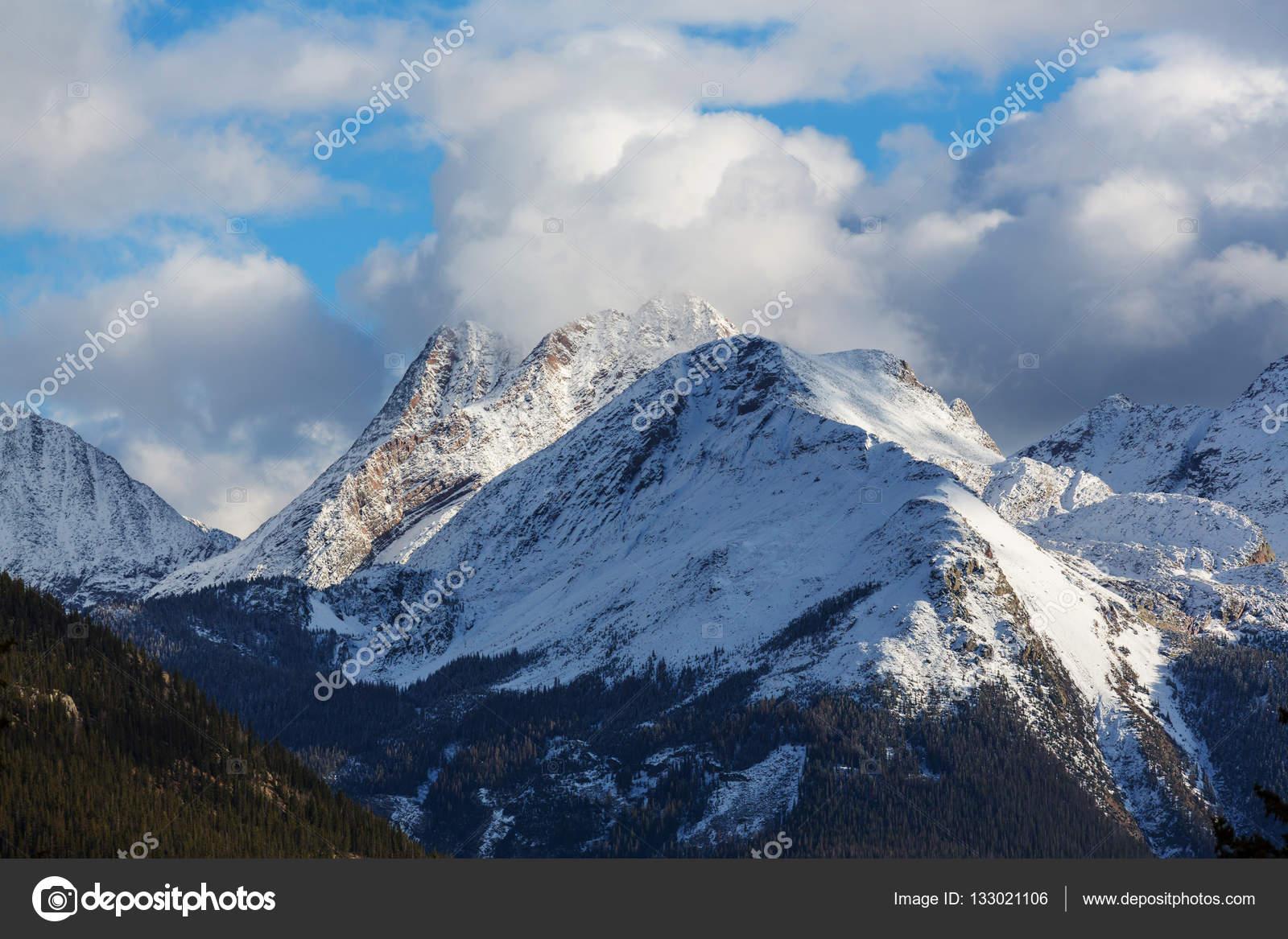 Paesaggio di montagna in colorado foto stock kamchatka for Piani casa montagna colorado